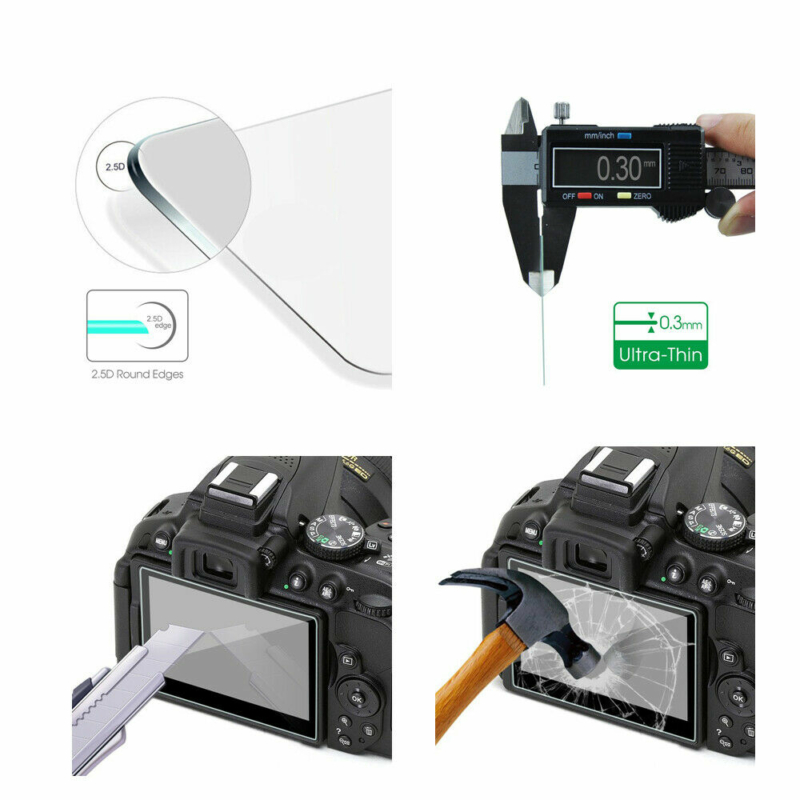Nikon D5500 kijelzővédő üveg