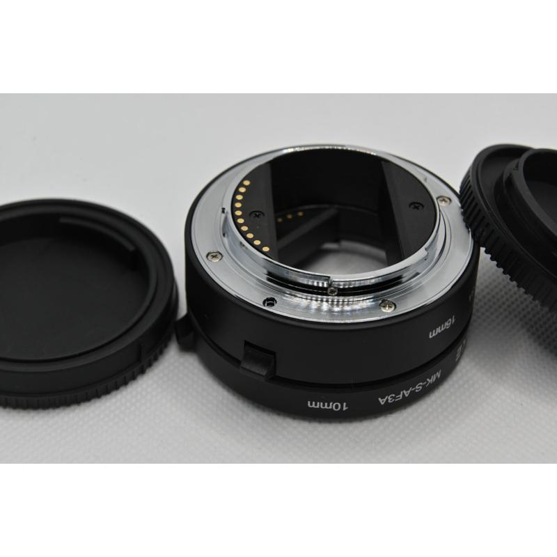 Sony E makro közgyűrű adapter - elektromos NEX makro konverter - FÉM változat