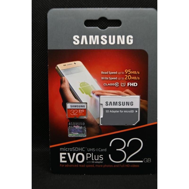 Samsung EVO Plus 32 GB memóriakártya