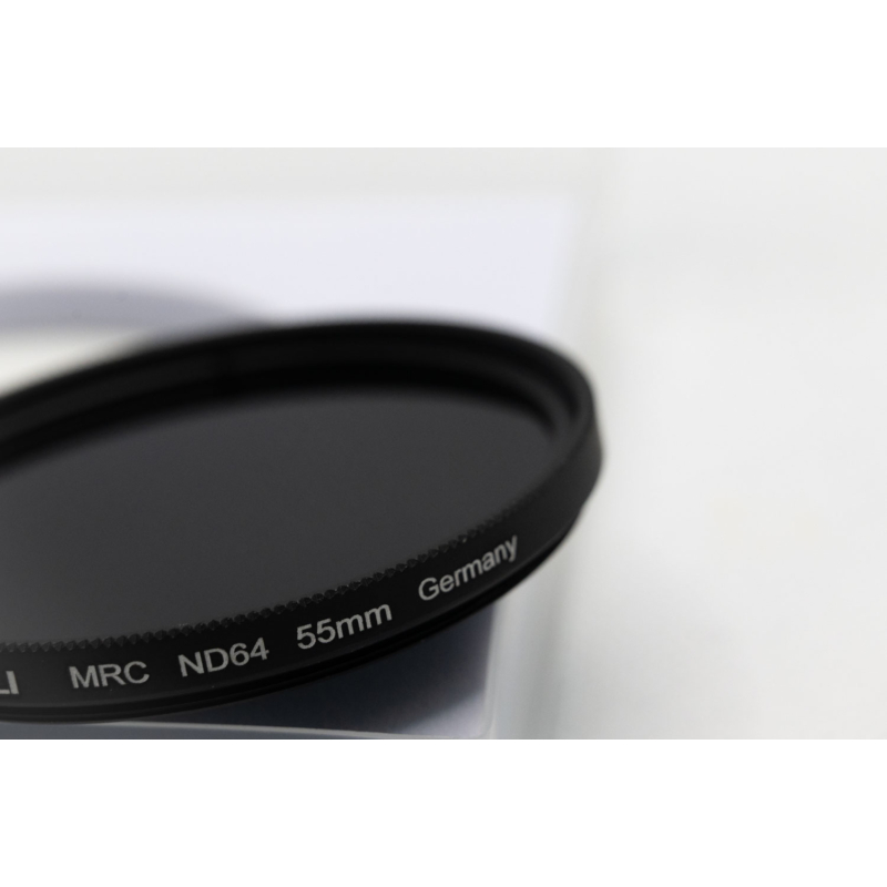 55mm ND64 filter