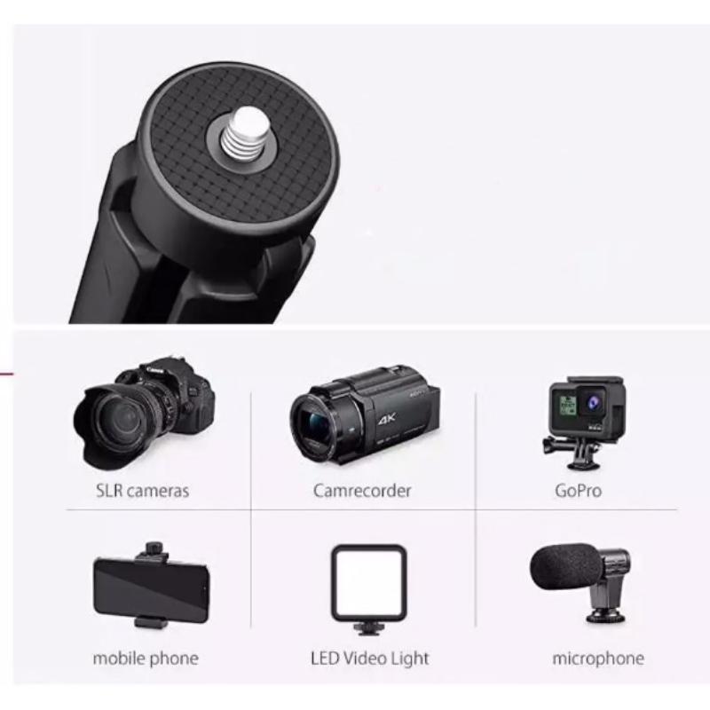 Kamera fém minitripod